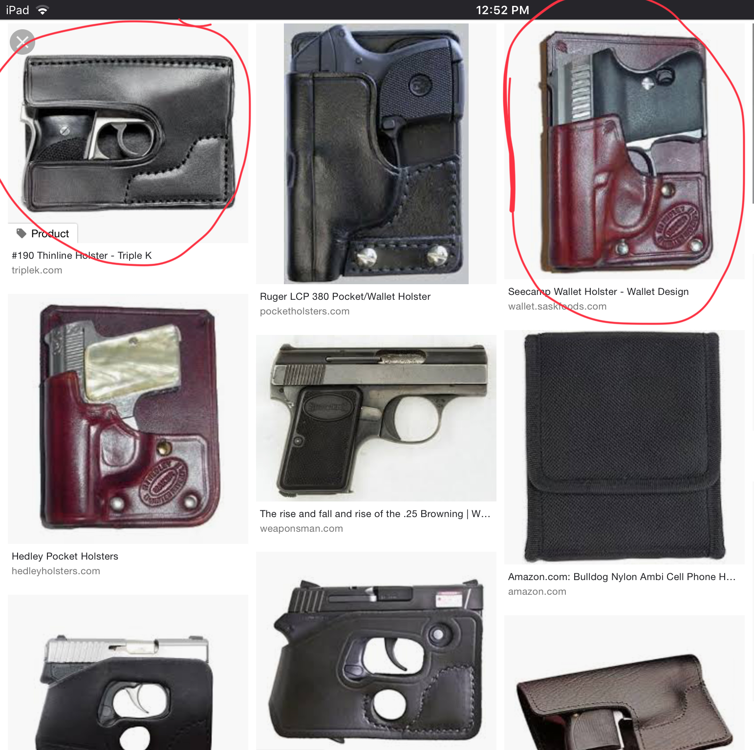 Baby Browning Holster | The Firearms Forum - The Buying