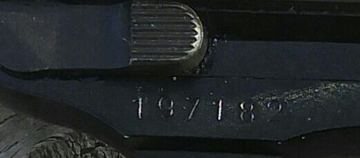 Walther P1 Serial Number Date
