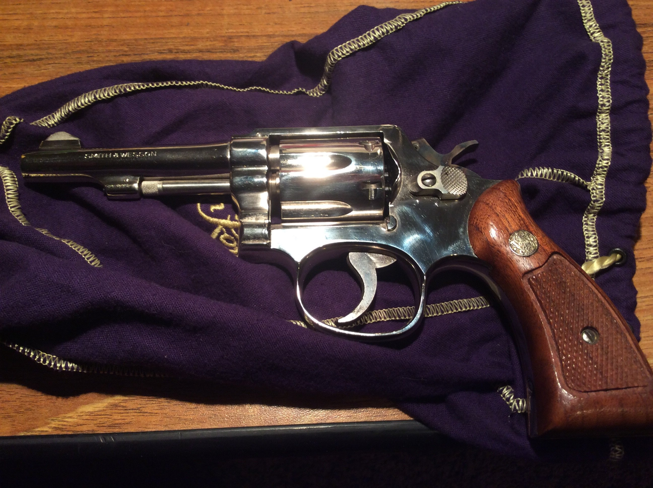Smith Wesson Model 10 serienummer dating