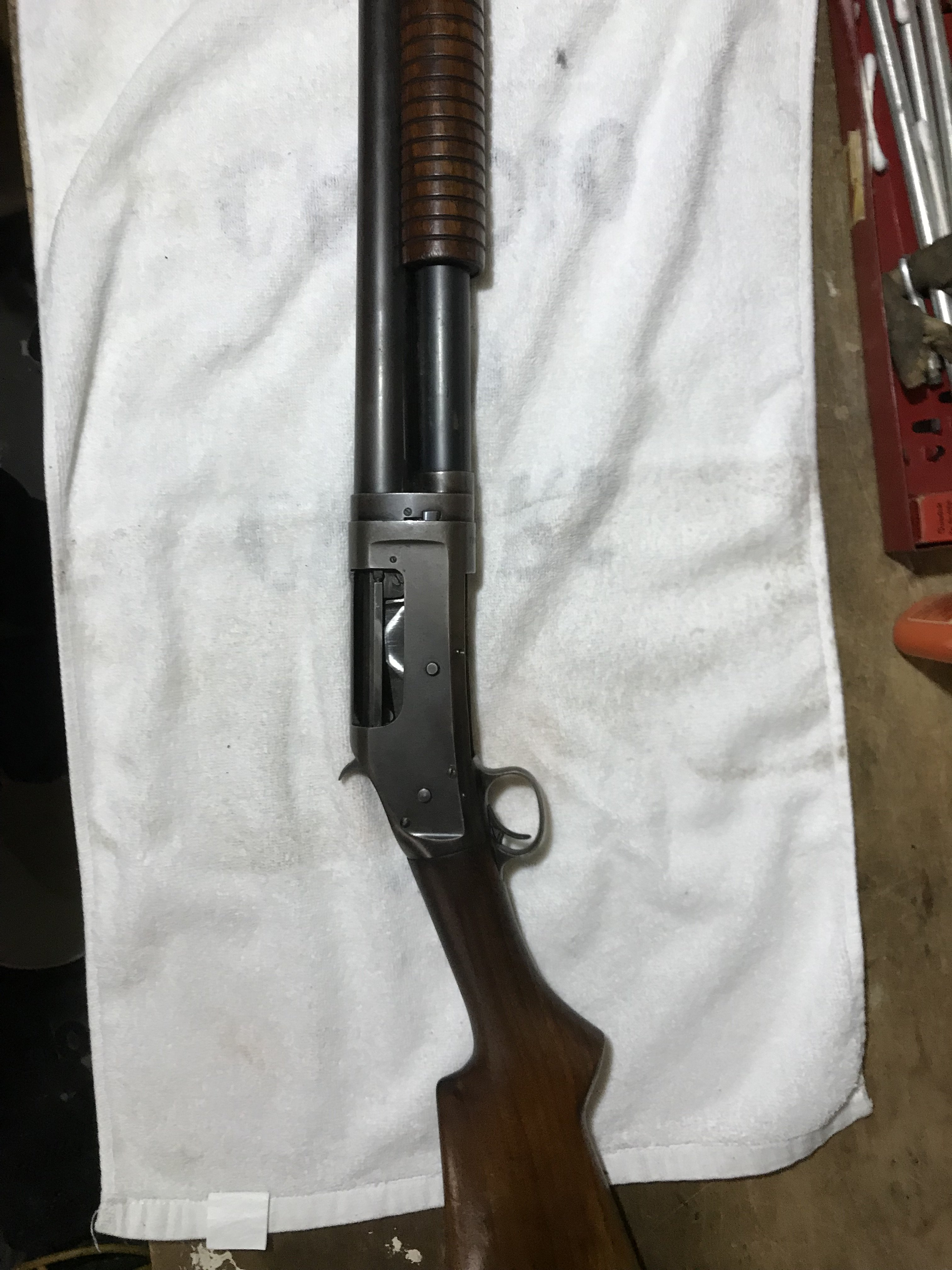 Winchester Model 97 12GA  pump shotgun | The Firearms Forum