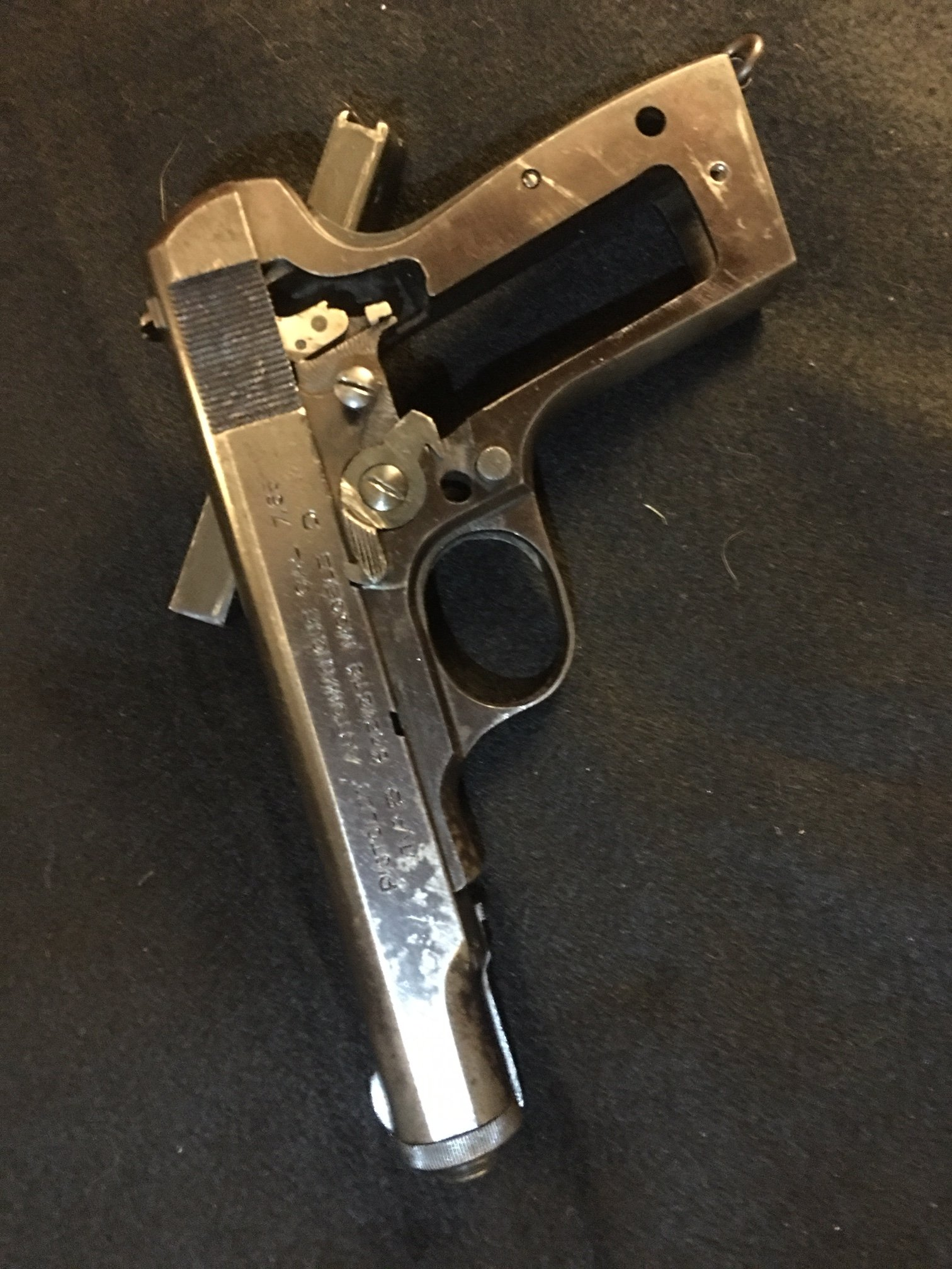 MAB Model D  32 pistol - incomplete | The Firearms Forum